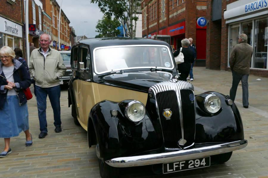Vintage & Classic Car & Bike Show Barrow Town Centre Sat 21st Jul 2018