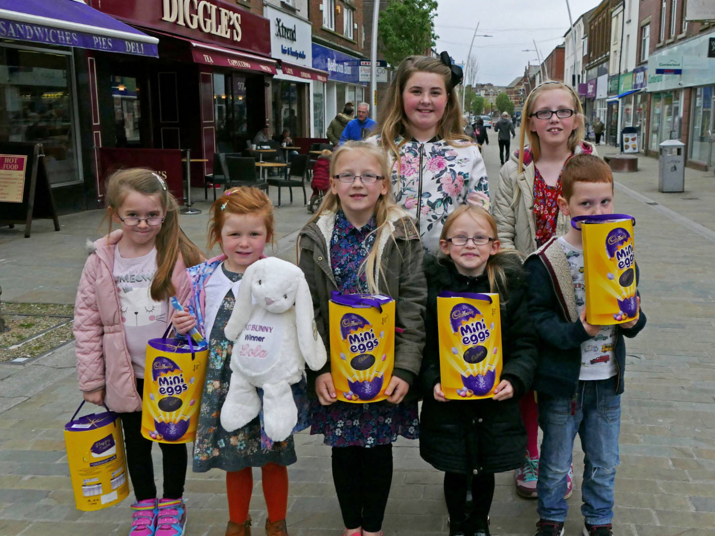 Easter Egg Hunt 2017 - The first public event organised by Barrow BID