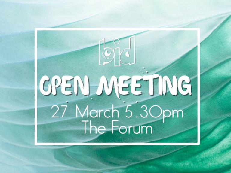 open meeting 2018 2