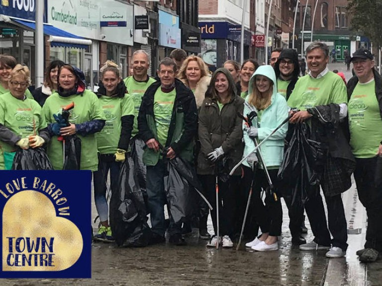 love-barrow-town-centre-clean-up